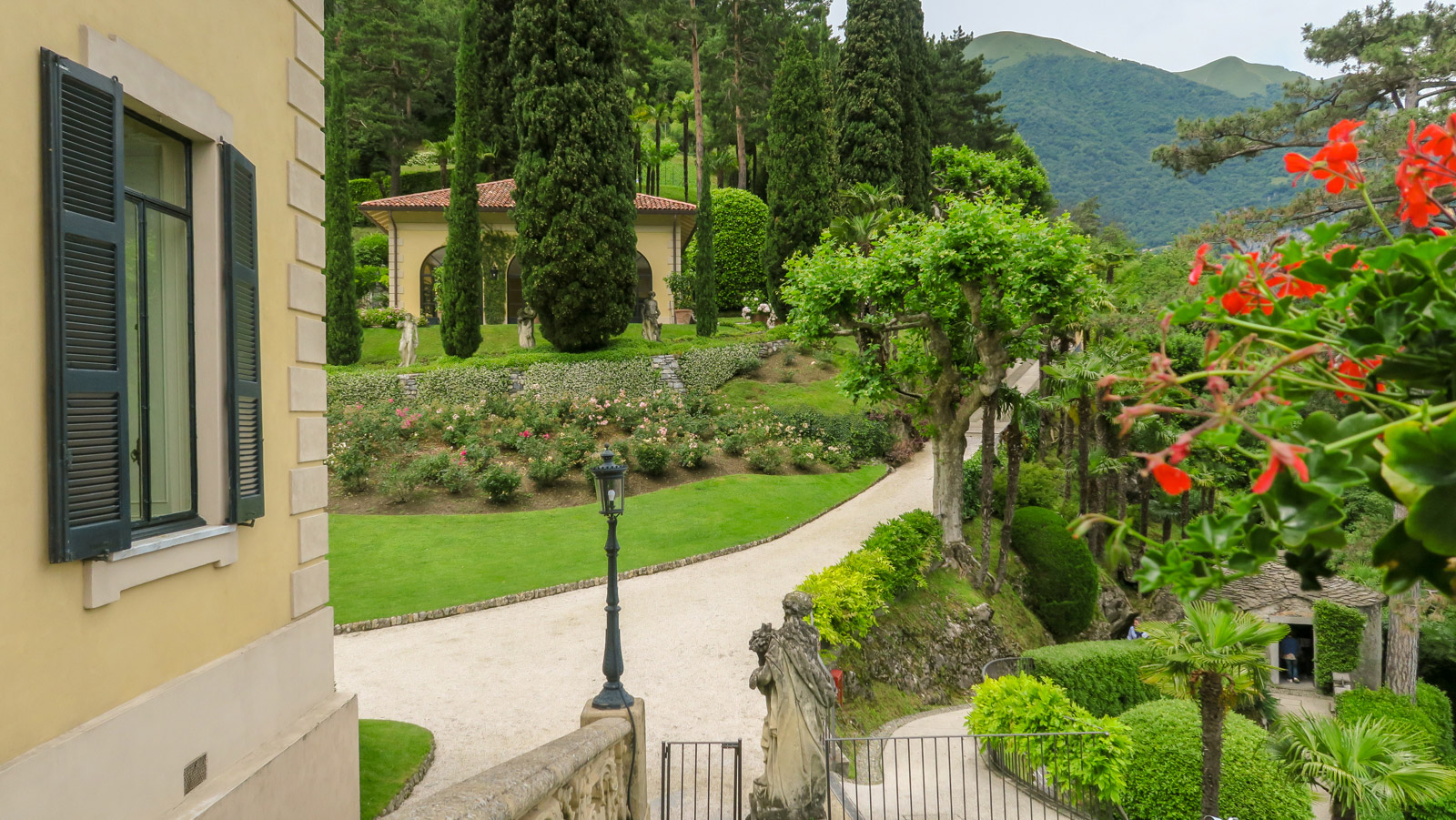 Villa Balbianello, Tuinen, Comomeer, Lenno