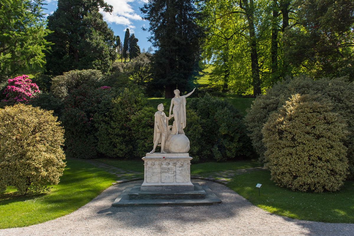 Villa Melzi, Bellagio, tuin
